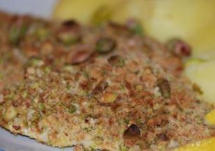 Cabillaud pistaches