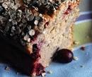 Cake banane cranberries petit